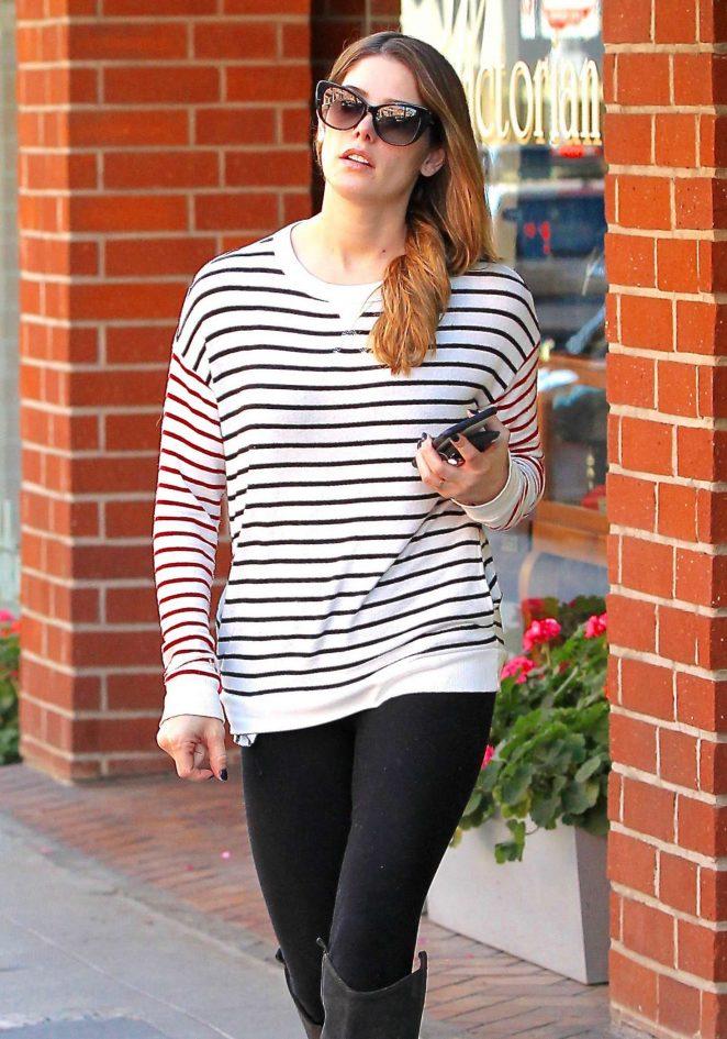 Ashley Greene – Leaving the nail salon in Beverly Hills