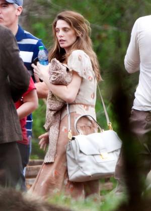 Ashley Greene - Filming 'In Dubious Battle' set in Atlanta