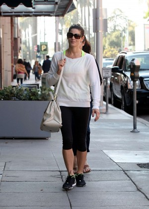 Ashley Greene in Tight Leggings Out in LA