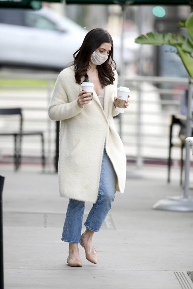 Ashley Greene - Out for a coffee in Los Angeles
