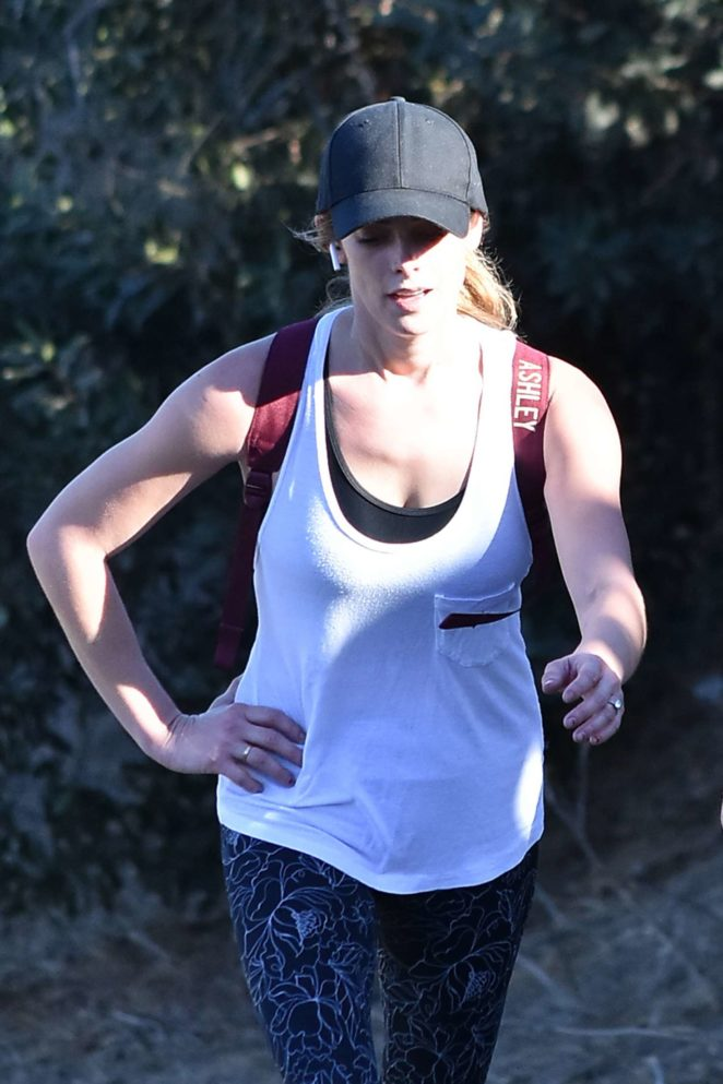 Ashley Greene - Out for a hike in Los Angeles