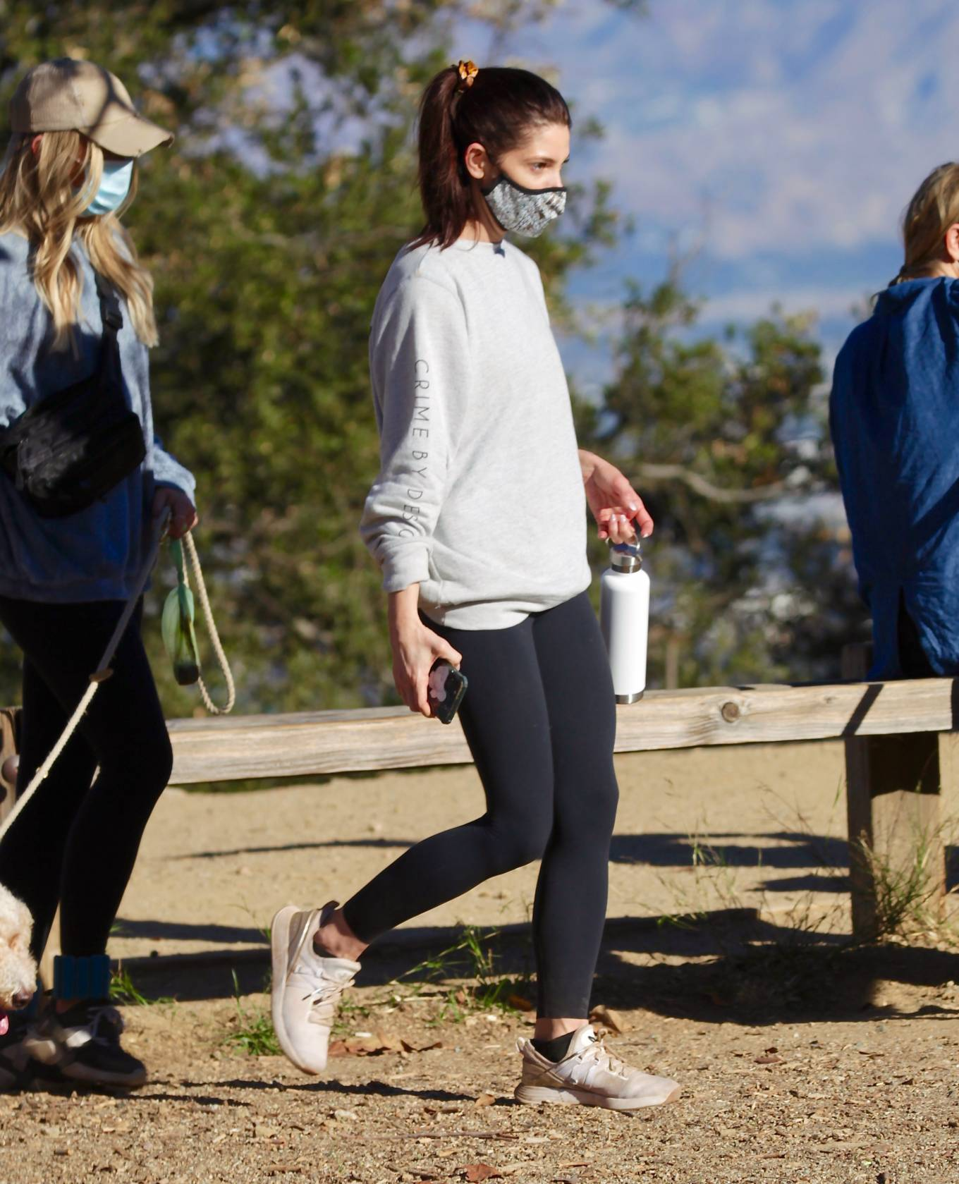 Ashley Greene - Out for a hike with friends in Los Angeles
