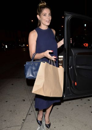 Ashley Greene out for dinner in West Hollywood