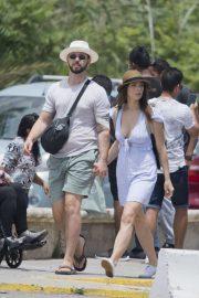 Ashley Greene - Out in Ibiza