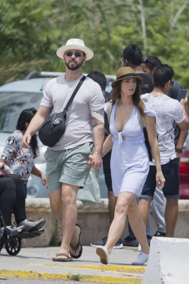 Ashley Greene - Out in Ibiza