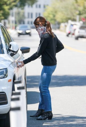 Ashley Greene - running errands in Beverly Hills