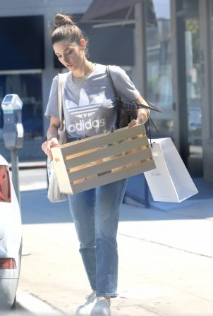 Ashley Greene - Running errands in West Hollywood