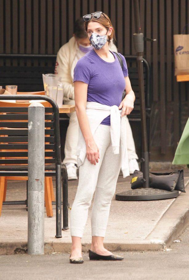 Ashley Greene - Seen at sushi restaurant in Studio City