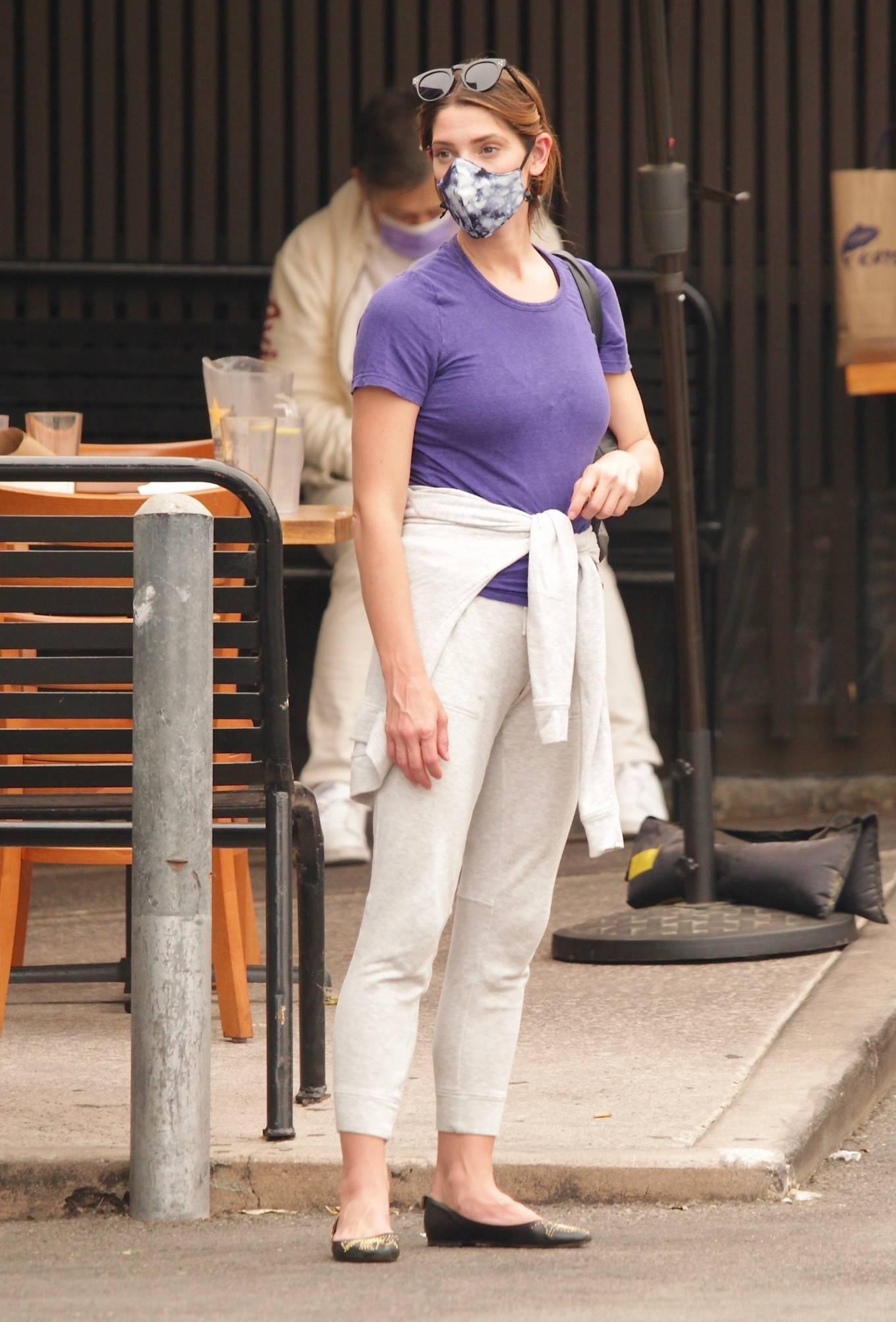 Ashley Greene 2020 : Ashley Greene – Seen at sushi restaurant in Studio City-06