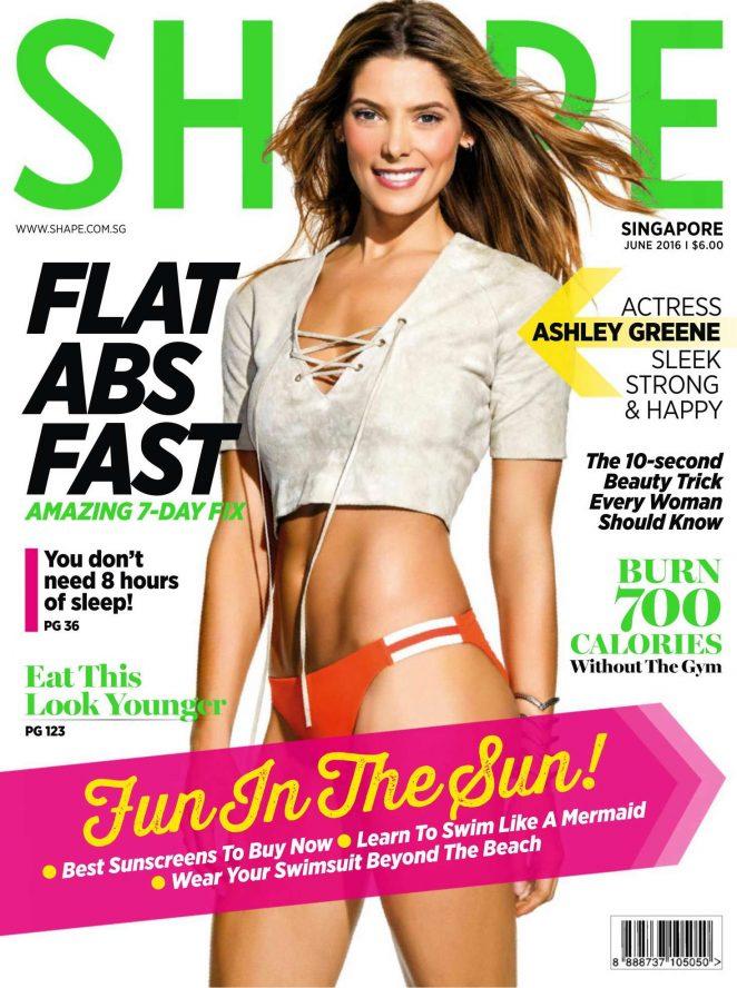 Ashley Greene – Shape Singapore Magazine (June 2016)