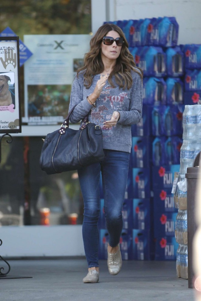 Ashley Greene - Shopping at Bristol Farms in Beverly Hills