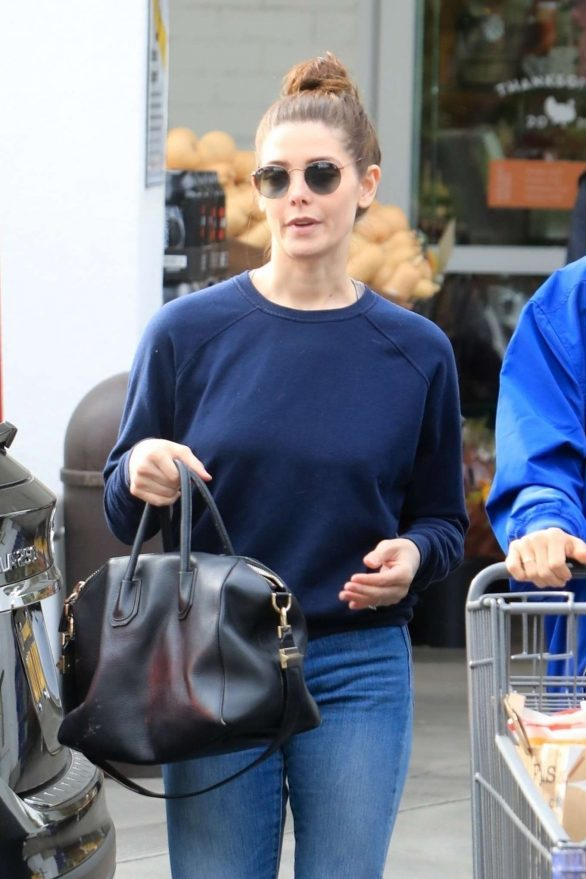Ashley Greene - Shopping for groceries in Beverly Hills