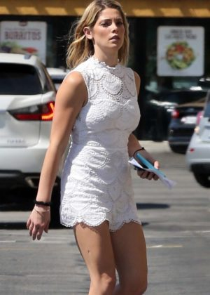 Ashley Greene - Shows off her toned legs while stopping by Rite Aid in Sherman Oaks