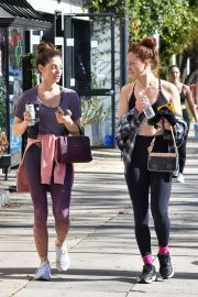 Ashley Greene - Spotted while out with a friend in Studio City