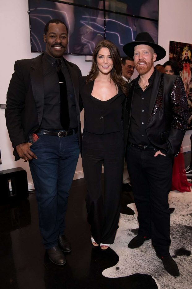 Ashley Greene: STARRING by Ted Gibson Salon Opening -07