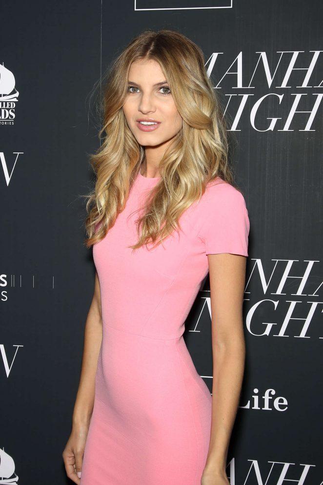 Ashley Haas - 'Manhattan Night' Premiere in New York
