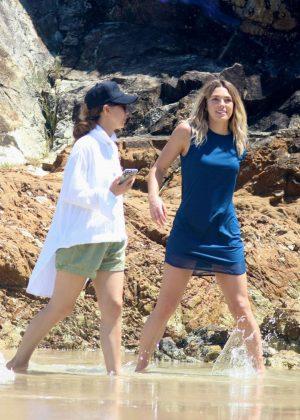 Ashley Hart - Doing Photoshoot in Byron Bay