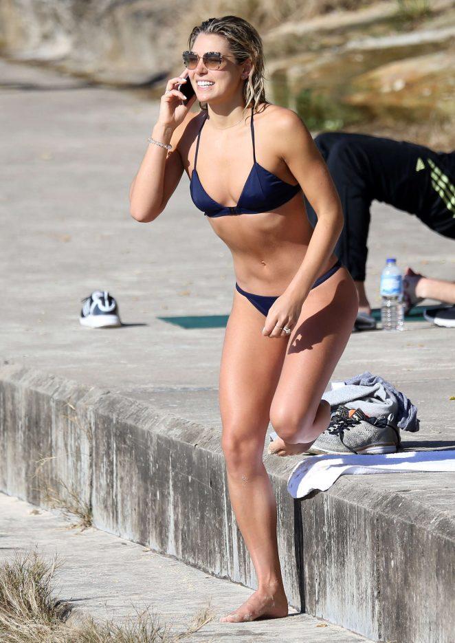 Ashley Hart In Bikini At Bondi Beach In Sydney  Gotceleb-8656
