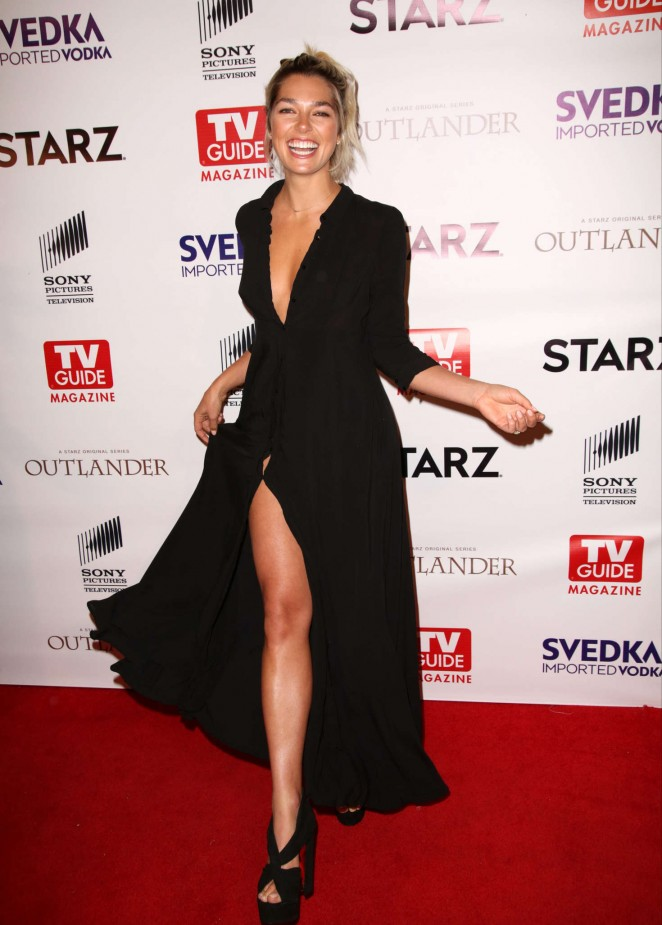 Ashley Hart - TV Guide Magazine and STARZ Celebration of OUTLANDER in West Hollywood