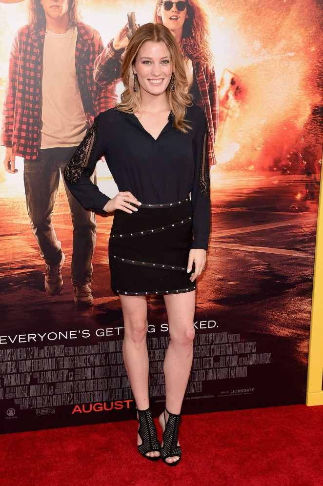 Ashley Hinshaw - 'American Ultra' Premiere in LA