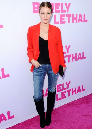 Ashley Hinshaw - 'Barely Lethal' Premiere in Hollywood