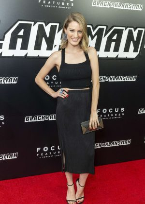 Ashley Hinshaw - 'BlacKkKlansman' Premiere in New York