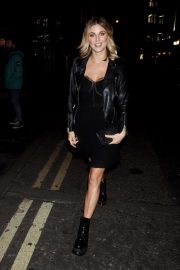 Ashley James - Arrives at Cara Delevingne x Nasty Gal Launch Party in London