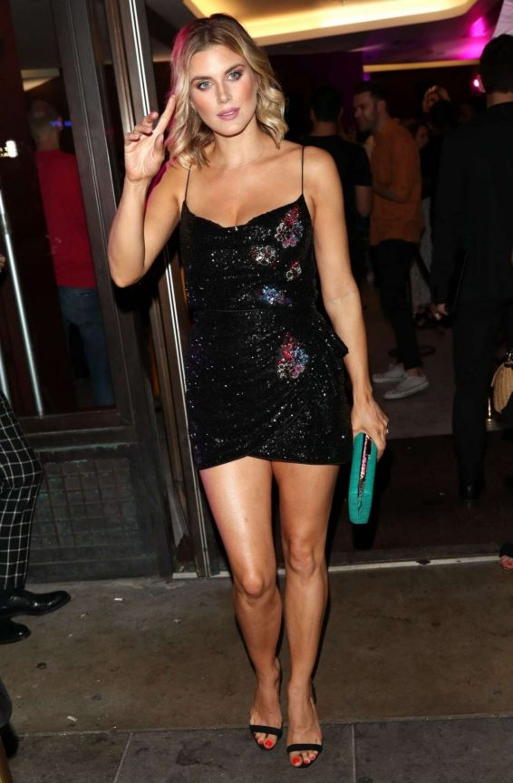 Ashley James - Arrives at Magnum Pleasure Store Launch in London