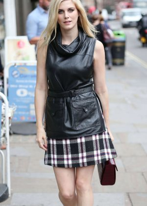 Ashley James Arriving at Century Club in London