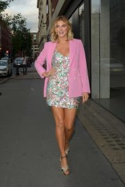 Ashley James - Arriving at Impulse Launch Party in London