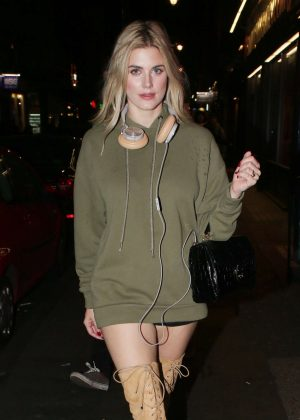 Ashley James at Lights of Soho in London