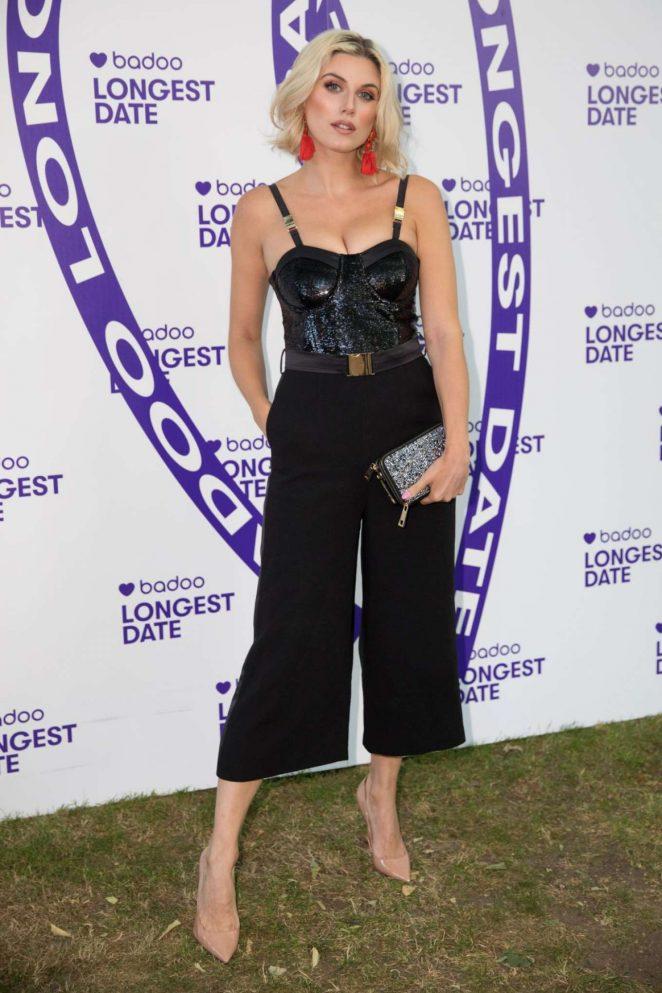 Ashley James - Badoo's Longest Date in London
