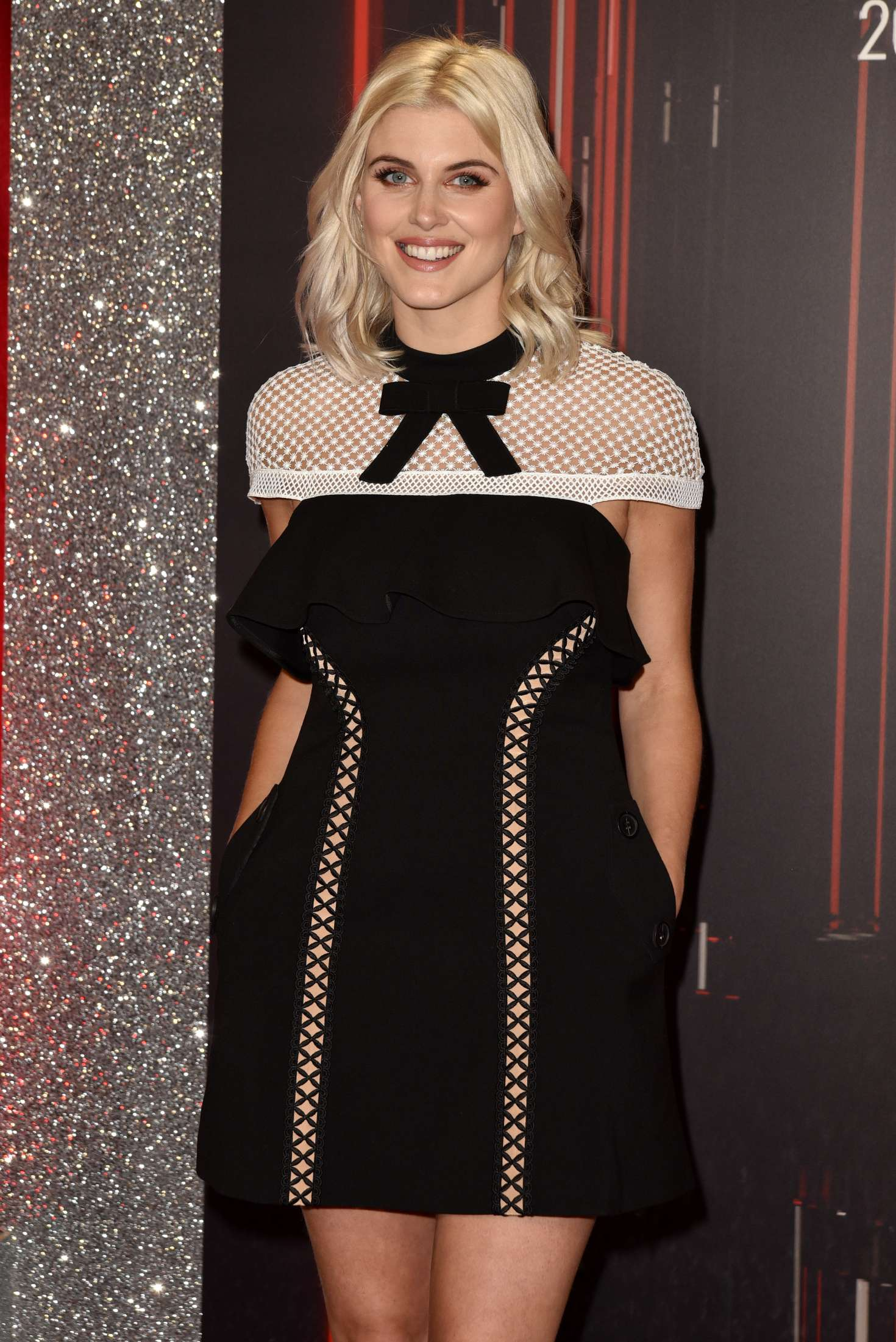 Ashley james british soap awards in manchester uk