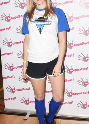 Ashley James - 'CoppaFeel! Celebrity Boob Ball Tournament in London