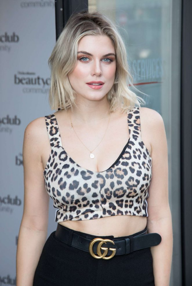 Ashley James - Debenham's Beauty Club Community Launch in London