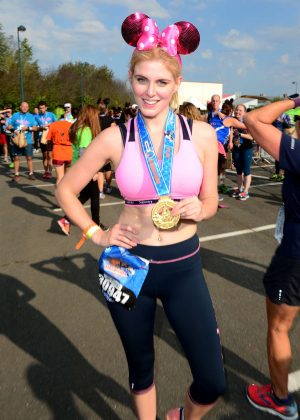 Ashley James - Disneyland Paris Half Marathon Weekend Event in Paris