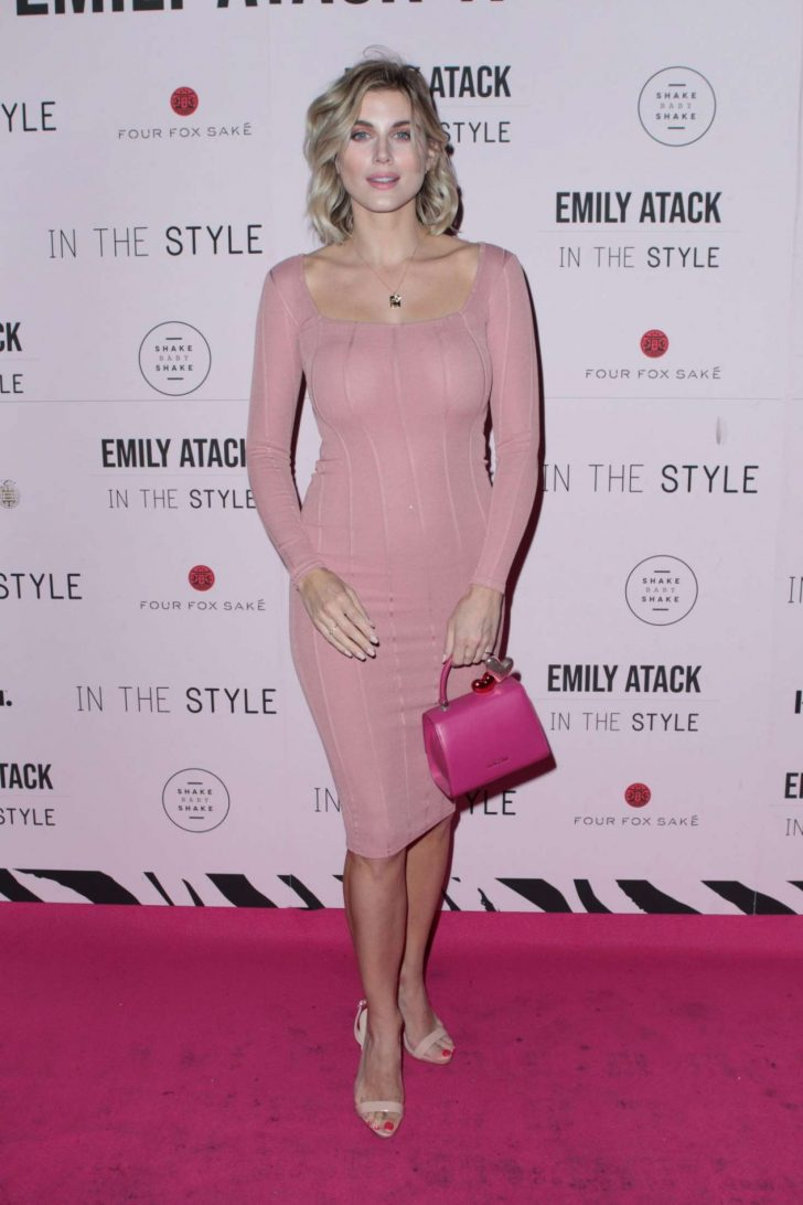 Ashley James - Emily Atack x In The Style Clothing Launch in London