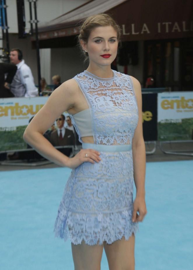 Ashley James - 'Entourage' Premiere in London