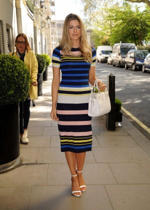 Ashley James - F&F Fashion Show in London