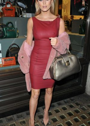 Ashley James - Folli Follie Store Party in London