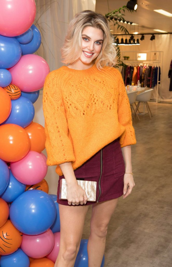Ashley James - H! by Henry Holland Knitwear Launch in London