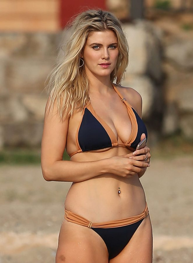 Ashley James in Bikini in Ibiza