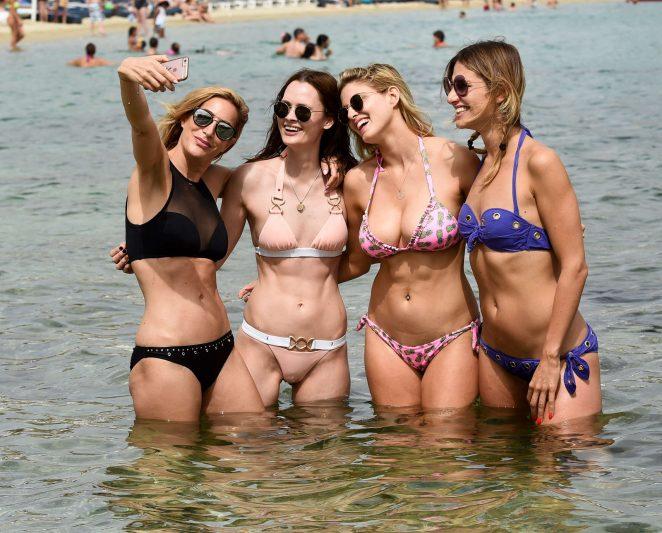 Ashley James in Bikini 2016 -08