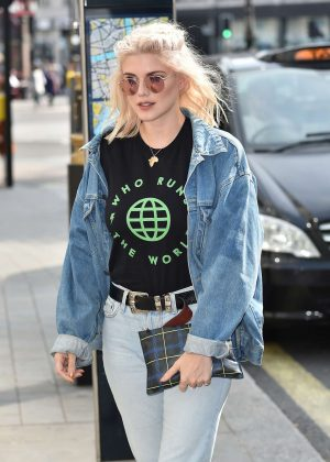 Ashley James in Jeans at STK in London