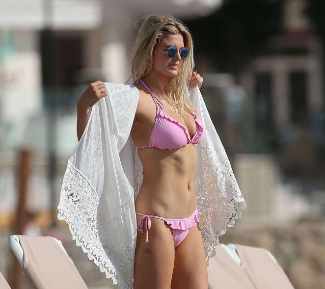 Ashley James in Pink Bikini -06
