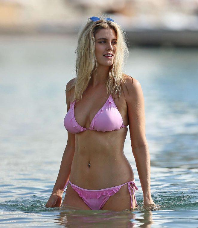 Ashley James in Pink Bikini -12
