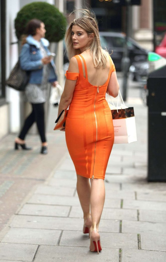 Ashley James: Leaving Harvey Nichols -04