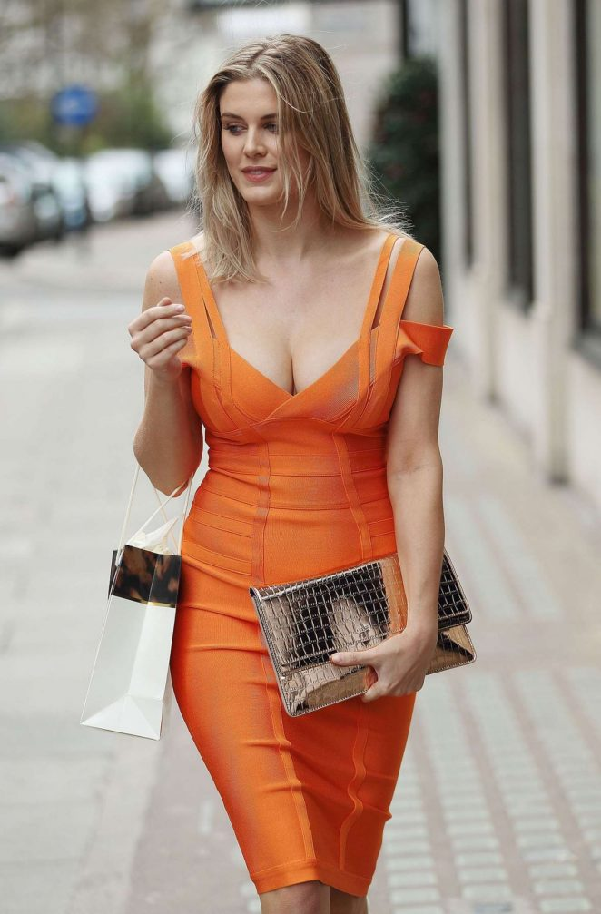 Ashley James: Leaving Harvey Nichols -05
