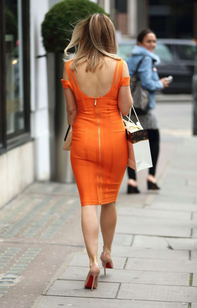 Ashley James: Leaving Harvey Nichols -09