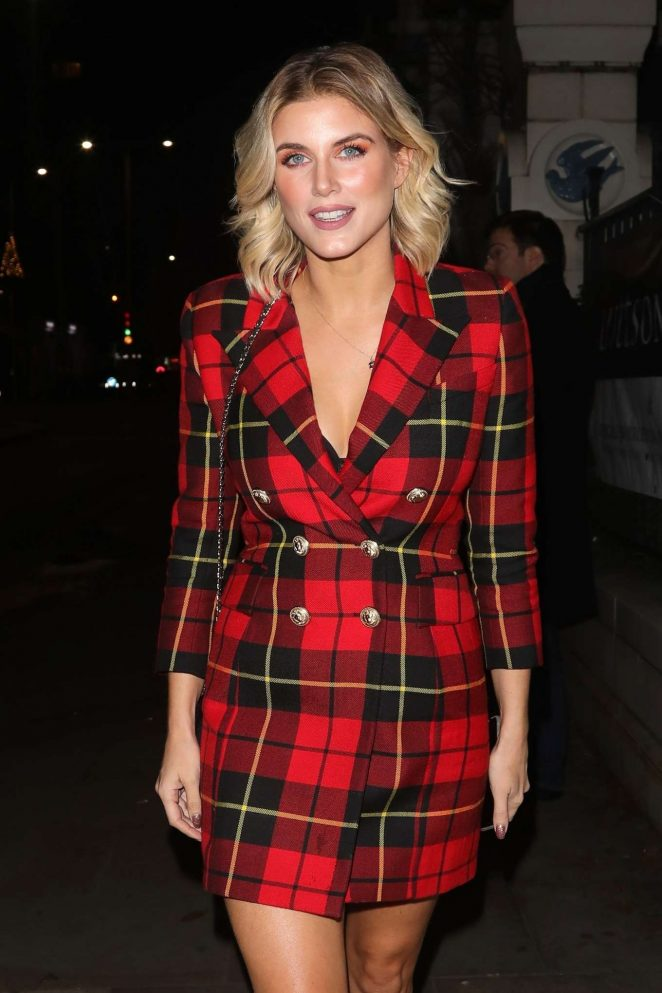Ashley James – Leaving the Bluebird Cafe on the Kings Road Chelsea in London